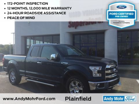 Certified Used Ford F-150 Lariat & Ford Certified Pre Owned Plainfield IN | Andy Mohr Ford markmcfarlin.com