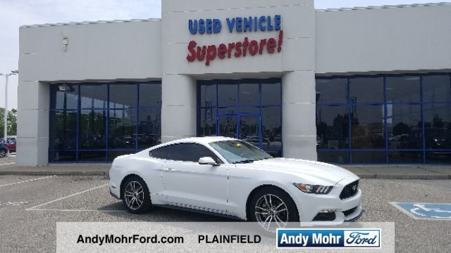 Certified used 2015 ford mustang ecoboost 2d coupe near indianapolis certified pre owned 2015 ford mustang ecoboost fandeluxe Choice Image