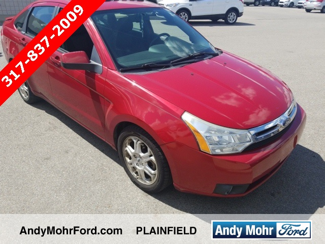 Used 2009 ford focus ses 4d sedan near indianapolis t29731a andy pre owned 2009 ford focus ses fandeluxe Image collections